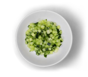 Mediterranean Food Near Me 90-Diced-Cucumber